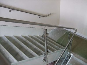 Glass Balustrade for Stairs in Dorset