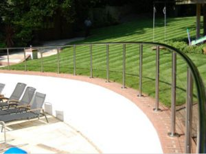 Glass balustrade Dorset