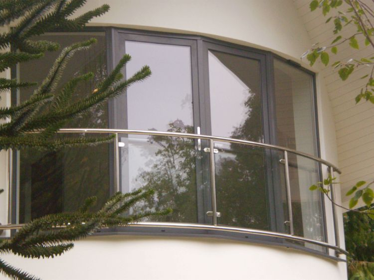 A Juliette balcony fitted by our team.